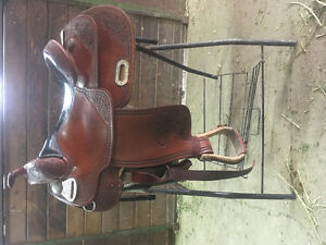 Billy Cook Reining Saddle