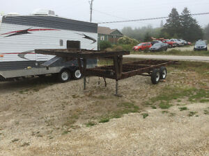 5th Wheel Flat Deck