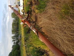 Sakundiak 42 ft self propelled grain auger kit and bin sweep