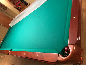 Pool table with accessories Kingston Kingston Area image 2