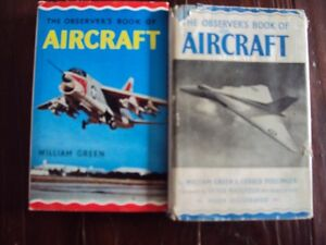 2 Vintage Observers Airplane handbooks