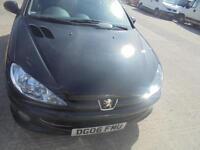 Peugeot 206 1.4 Verve 3 DOOR - 2006 06-REG - 9 MONTHS MOT