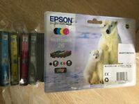Genuine Epsom printer inks multi pack 26 bought in error