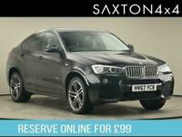 2017 BMW X4 3.0 30d M Sport Auto xDrive (s/s) 5dr SUV Diesel Automatic