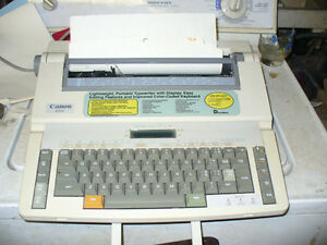 Canon ES23 Electronic Typewriter With Correction System,