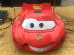 CARS Lightning McQueen kids radio and CD player.