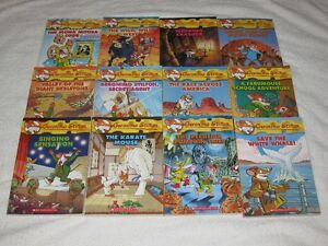 GERONIMO STILTON - CHAPTERBOOKS - GREAT SELECTION - CHECK IT OUT