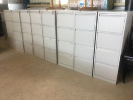 Bisley 4 drawer filing cabinet.