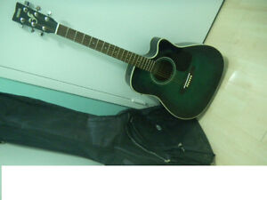 Yamaha Acoustic Electric guitar  with case