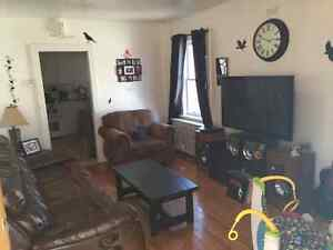 Spacious 3 bedroom main floor apartment with basement for storag