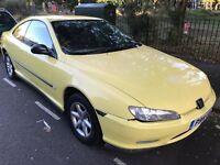 Peugeot 406. Coupe. Mot. Tax