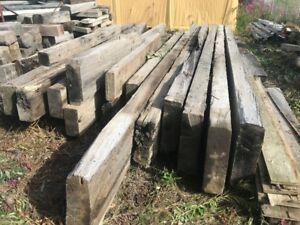 Weathered Bridge Timbers