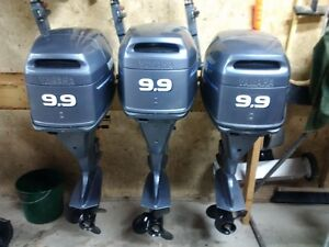 2 - 9.9hp Yamaha 4 Stroke outboards