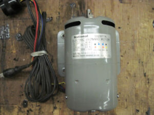 electric motor DC - National SSD811A electric Leonard