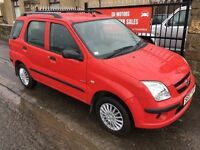 SUZUKI IGNIS 1.3 (2007) 69000 MILES, MOT JULY 2017, WARRANTY £1495