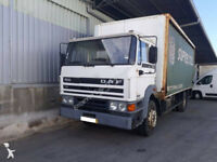 Left hand drive DAF 1900 Turbo Intercooling 19 ton curtainsider with tail lift.