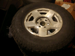 Chevy/gmc 6 bolt rims and tires