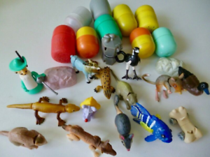 Kinda Surprise Toys, 26 pieces, 9 unopened, from Y2000-2010