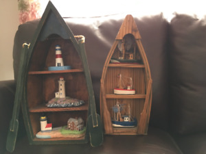 2 NAUTICAL DECOR PIECES and SINGING LOBSTER