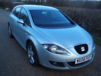 2006 06 Plate Seat Leon 2.0TDI Reference Sport In Silver , Cheap P/ex To Clear