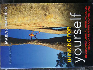 thinking for yourself by Marly Mayfield, 8th ed
