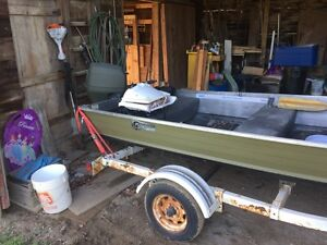 14ft and 15hp four stoke