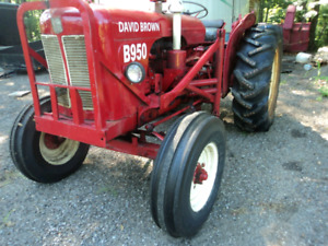 Tracteur david brown 950