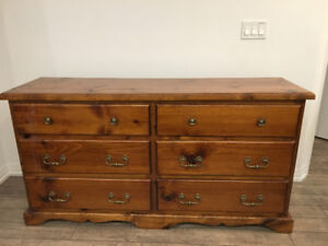 All-Wood Dresser / Vanity - Very Sturdy