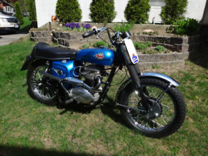 Attention Collectors: 1967 BSA 500 Wasp Scrambler Replica