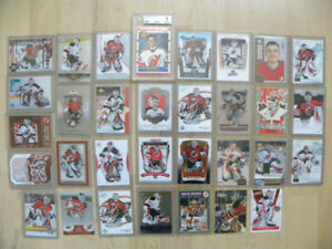 Martin Brodeur BGS rookie card collection