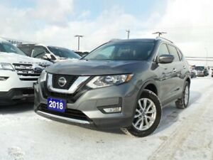 2018 Nissan Rogue SV 2.5L AWD HEATED SEATS