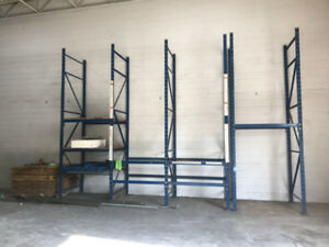 Industrial Pallet shelving