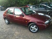 Ford Fiesta 1.3 Ghia, cheap car, long MOT, not astra, clio or 206