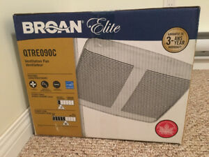 Broan bathroom fan - NEW
