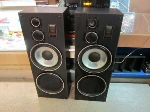 Set Of NIKKO AUDIO N-600T Speakers With Grills For Sale