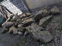 Extra large rockery stones