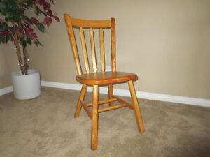 Wooden chair for sale Moose Jaw Regina Area image 2
