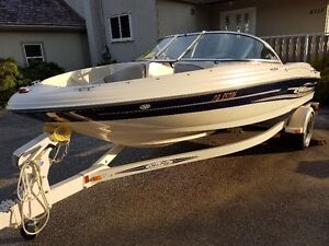18 ft searay bowrider...112 hours on package