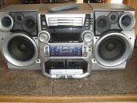 JVC MX-J500 mini stereo system