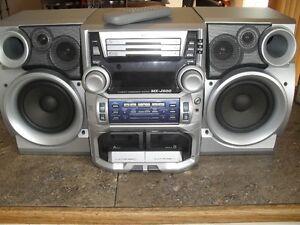 JVC MX-J500 mini stereo system West Island Greater Montréal image 1