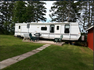 Spacious 34' Holiday Trailer for Rent in PEI