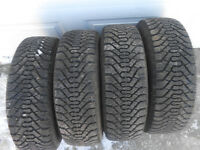 Full  set of winters  185 65 R15 ( Price Reduced) 90 % tread