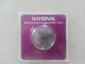 NEW SEALED National Electric Shaver Replacement Unit T-10
