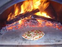 WOODFIRED PIZZA CATERER  FOR YOUR SPECIAL  EVENT