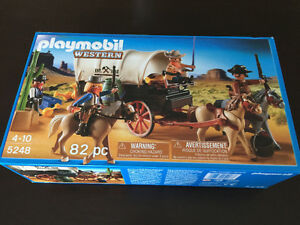 Playmobil - Covered Wagon with Raiders 5248
