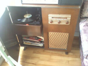2 Meuble ancien  radio a lampe AM   1   STROMBERG CARLSON