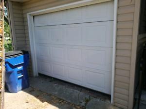8ft insulated garage door