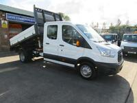 2015 Ford Transit 2.2TDCi ( 125PS ) 350 L3H1 Double / Crew Drop side Tipper
