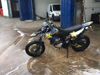 2010 Yamaha wr 125r 8 months mot snap back leavers ready to go delivery available