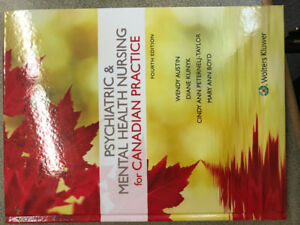 Canadian Psychiatric Mental Health Great Deals On Books Used